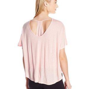 Calvin Klein Performance Pink Racerback T-shirt 1X